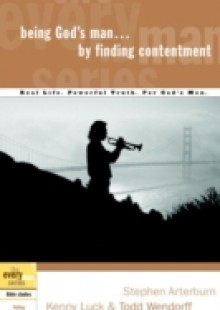 Обложка книги  - Being God's Man by Finding Contentment