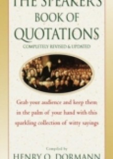 Обложка книги  - Speaker's Book of Quotations, Completely Revised and Updated
