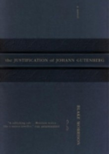 Обложка книги  - Justification of Johann Gutenberg
