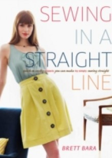 Обложка книги  - Sewing in a Straight Line