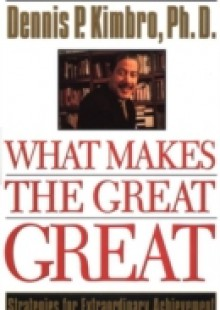 Обложка книги  - What Makes the Great Great