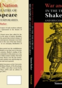 Обложка книги  - War and Nation in the Theatre of Shakespeare and His Contemporaries