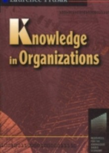 Обложка книги  - Knowledge in Organisations