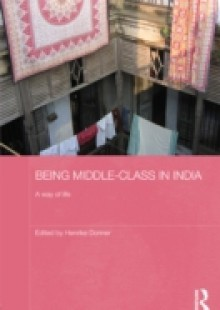 Обложка книги  - Being Middle-class in India