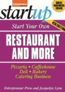 Обложка книги  - Start Your Own Restaurant and More