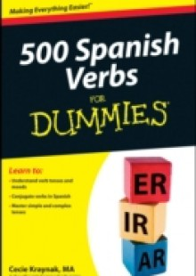 Обложка книги  - 500 Spanish Verbs For Dummies
