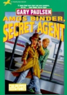Обложка книги  - Amos Binder, Secret Agent (Culpepper #28)
