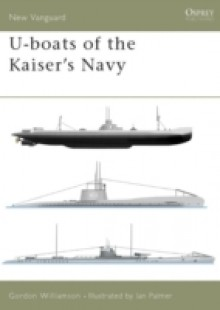 Обложка книги  - U-boats of the Kaiser's Navy