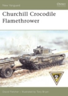 Обложка книги  - Churchill Crocodile Flamethrower