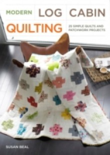 Обложка книги  - Modern Log Cabin Quilting