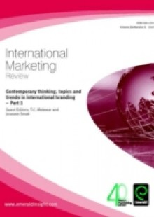 Обложка книги  - Contemporary thinking, topics and trends in international branding – Part 1