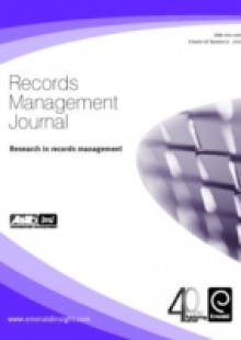 Обложка книги  - Research in Records Management