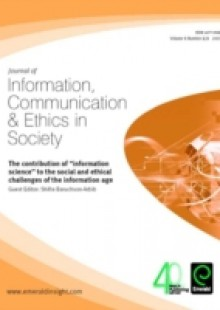 Обложка книги  - contribution of &quote;Information Science&quote; to the social and ethical challenges of the information age