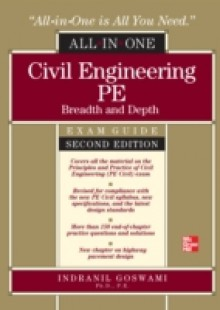 Обложка книги  - Civil Engineering All-In-One PE Exam Guide: Breadth and Depth, Second Edition