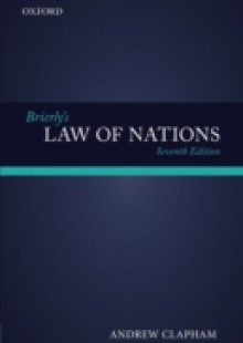 Обложка книги  - Brierly's Law of Nations: An Introduction to the Role of International Law in International Relations