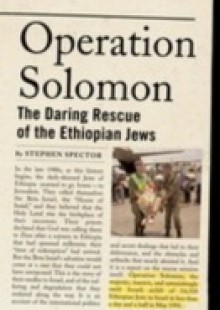 Обложка книги  - Operation Solomon: The Daring Rescue of the Ethiopian Jews