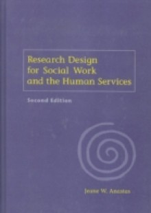 Обложка книги  - Research Design for Social Work and the Human Services