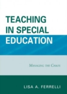 Обложка книги  - Teaching in Special Education