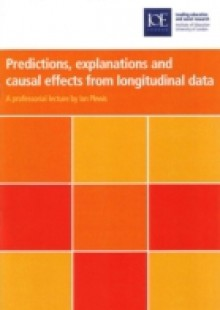Обложка книги  - Predictions, explanations and causal effects from longitudinal data