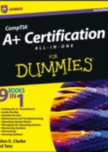 Обложка книги  - CompTIA A+ Certification All-in-One For Dummies