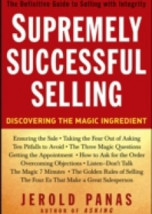 Обложка книги  - Supremely Successful Selling
