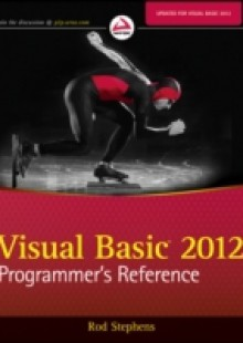 Обложка книги  - Visual Basic 2012 Programmer's Reference
