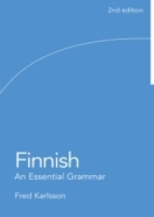 Обложка книги  - Finnish: An Essential Grammar