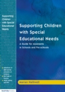 Обложка книги  - Supporting Children with Special Educational Needs