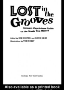 Обложка книги  - Lost in the Grooves