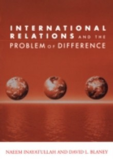 Обложка книги  - International Relations and the Problem of Difference
