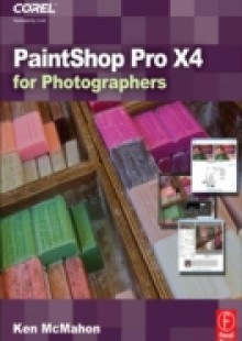 Обложка книги  - PaintShop Pro X4 for Photographers