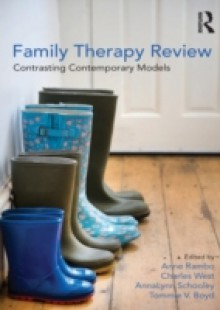 Обложка книги  - Family Therapy Review: Contrasting Contemporary Models