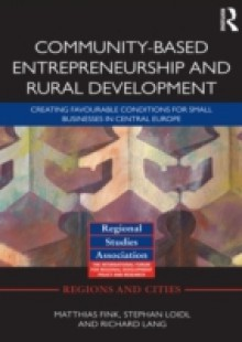 Обложка книги  - Community-based Entrepreneurship and Rural Development