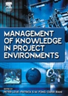 Обложка книги  - Management of Knowledge in Project Environments
