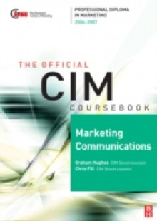 Обложка книги  - CIM Coursebook 06/07 Marketing Communications