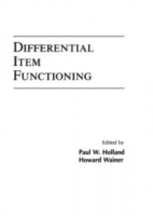 Обложка книги  - Differential Item Functioning