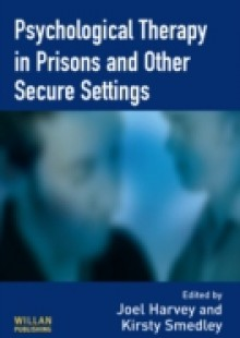 Обложка книги  - Psychological Therapy in Prisons and Other Settings