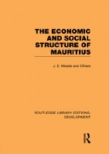 Обложка книги  - Economic and Social Structure of Mauritius
