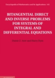 Обложка книги  - Bitangential Direct and Inverse Problems for Systems of Integral and Differential Equations
