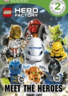 Обложка книги  - LEGO Hero Factory Meet the Heroes