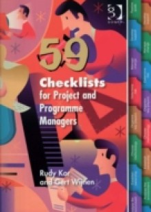 Обложка книги  - 59 Checklists for Project and Programme Managers