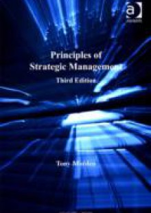 Обложка книги  - Principles of Strategic Management