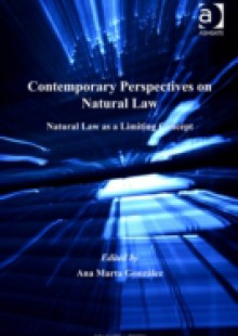 Обложка книги  - Contemporary Perspectives on Natural Law