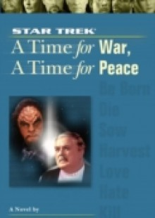 Обложка книги  - Time For War And a Time For Peace