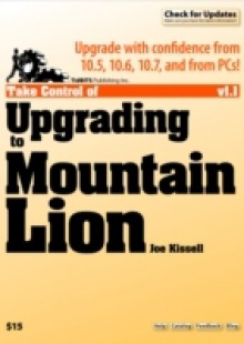 Обложка книги  - Take Control of Upgrading to Mountain Lion