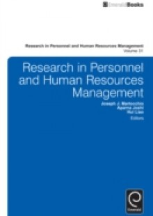 Обложка книги  - Research in Personnel and Human Resources Management