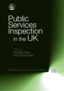 Обложка книги  - Public Services Inspection in the UK