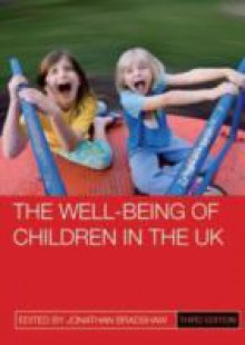 Обложка книги  - well-being of children in the UK