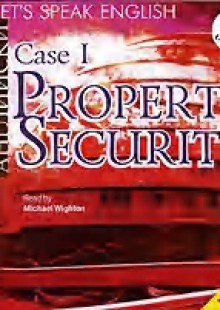 Обложка книги  - Let's Speak English. Case 1. Property Security