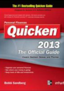 Обложка книги  - Quicken 2013 The Official Guide